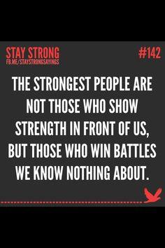 Fight ur own battle