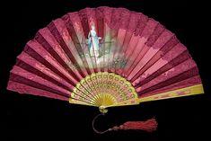 Fan 1890–99 Culture: American Medium: Wood, silk, metal, metallic