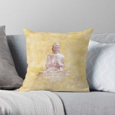 -  Vibrant double-sided print throw pillows to update any room.   -  Independent designs, custom printed when you order.   -  Soft and durable 100% spun polyester cover with an optional polyester fill/insert.   -  Concealed zip opening for a clean look and easy care.   . . . #pillows  #cushions  #bitsofeverywhere  #buddhacushion  #namastecushion  #buddah  #namaste  #spiritualcushion