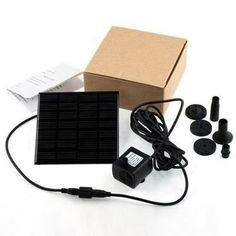 Kit Bomba D'água Energia Solar Com Painel