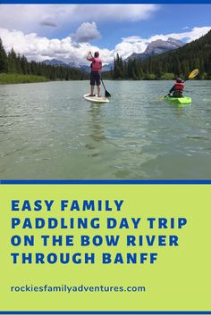 Paddle the Bow River through Banff National Park into Vermilion Lakes with your family. Great for stand up paddleboarding, canoeing, and kayaking.  #standuppaddle #kayak #canoe #paddle #banff #alberta #outdoorfamilies #activefamily #explorealberta #explorecanada Banff Alberta, Alberta Canada, Canoeing, Kayaking, Canoe Club, Boating Tips, Three Lakes, Float Trip, Down The River
