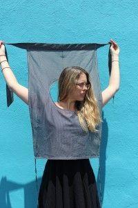 » Retro Inspired Wrap Shirt Tutorial Hart's Fabric
