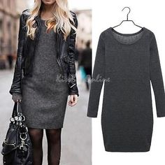 Winter-Women-Fashion-Casual-Slim-Long-Sleeve-Velet-One-Piece-Bodycon-Mini-Dress