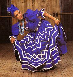 (Symbol #9-Water-Ocean)-ocean Goddess CFN Cuba | Dance for and of Yemaya, Orisha