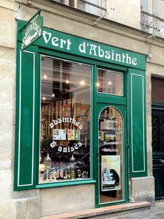 Vert d'Absinthe | Paris 11 rue Ormesson, Marais, 75004 Paris  Neighborhoods: Marais, Beaubourg, 4ème +33 1 42 71 69 73  vertdabsinthe.com     Nearest Transit Station: Hôtel de Ville,  Rambuteau, Châtelet - Avenue Victoria Hours:Tue-Sat 12 pm - 7 pm