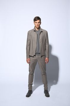 fashion fourties sport jacket | slim fit pants with riding patch