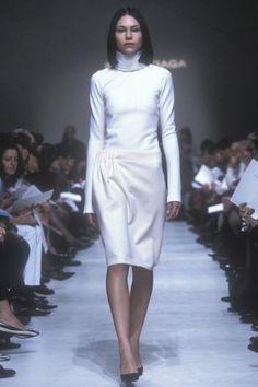 Nicolas Ghesquire for Balenciaga Fall/Winter Nicolas Ghesquiere, Balenciaga, High Neck Dress, Fall Winter, Autumn, Collection, Art Direction, Dresses, Personal Style