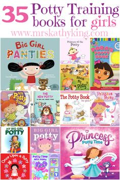 Are you looking for helpful tips on Potty Training Little Girl? 35 Potty Training Books for Girls.
