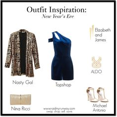 Outfit Inspiration: New Year's Eve   swap. shop. sell. save. www.raidmyrunway.com