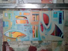 Endless Summer 2016 Words On Wood, Wood Steel, Plexus Products, Summer 2016, Contemporary Art, Fine Art, Abstract, Painting, Summary