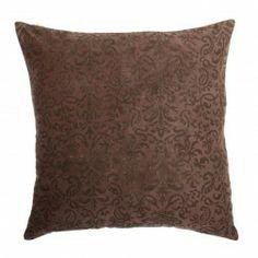 Cojín decorativo estampado marrón deluxe. Cojines decorativos en Nuryba.com tu tienda de cojines y decoracion online