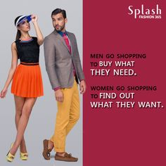 In the end, we all #love shopping! #Fashion
