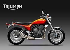 Motosketches: TRIUMPH X-66 HURRICANE CONCEPT Motorcycle Design, Scrambler, Behance, Concept, Bike, Proposal, Motorbikes, Bicycle Kick, Bicycle