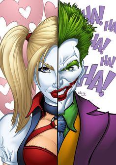 Harley/Joker by Brad Van Geest & Sean Ellery