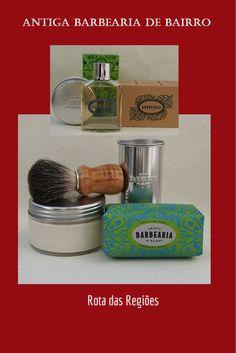 Antiga Barbearia de Bairro Shaving Soap, Eau de Toilette, Soap to Cord and shaving Brush