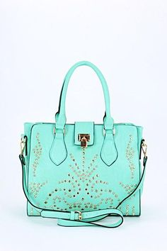 0ebca37a9de Gypsy Chic - Studded Mint Purse from Gypsy Outfitters