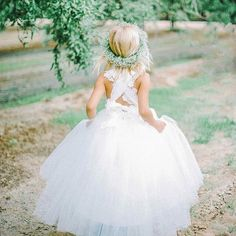 """Summer Weddings  The """"Chloe"""" dress can be ordered from 18m - size 12  #love #flowergirl #lace #ballerinaskirt"""