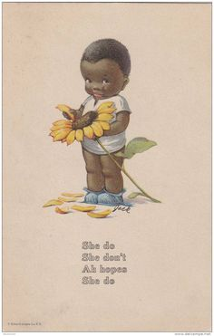 Image detail for -Charles Twelvetrees Black Americana Sunflower Ah Hope She Do