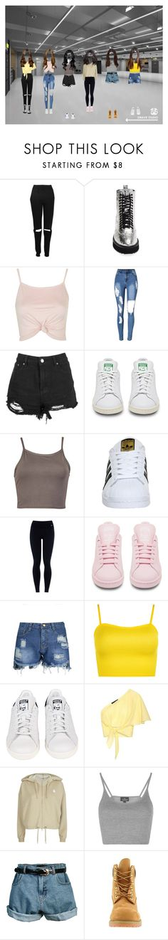 """dance"" by vicarausch on Polyvore featuring Mode, Boohoo, Shellys, Topshop, adidas, NIKE, WearAll, Anna October, adidas Originals und Retrò"