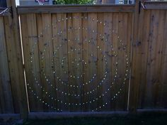 Add Glass Marbles to Fence
