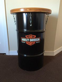 Harley Barrel Table