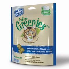 FELINE GREENIES  6-Ounce Package, Tuna *** Don't get left behind, see this great cat product : A - N - I - M - A - L - S ~~ PINS FRIENDS
