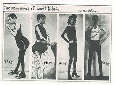 kurt cobain journal drawings - Google Search