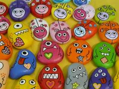 pet rocks-neat rewards? Could use as feelings faces!