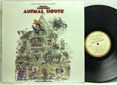Animal House Soundtrack National Lampoon's in-shrink LP, Vinyl Record, Album