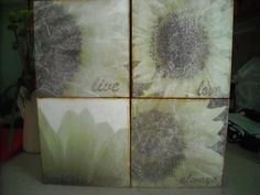 Tissue Paper Wall Boxes