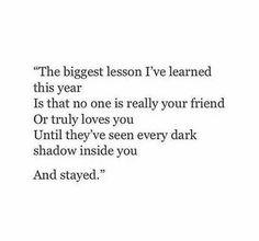 The biggest lesson