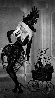 Lady Gaga Crinoline cage