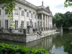 "penthesileas: "" Art and Architecture-The Łazienki Palace, also known as the Palace on the Water. It is built on an artificial island located in the Warsaw Royal Baths Park. Travel Songs, Top 10 Restaurants, Best Club, Travel List, Travel Guide, Central Europe, Krakow, Warsaw, Art And Architecture"