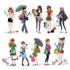 Girls ! | par Isacile