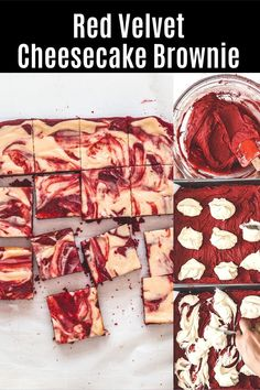 Hey brownie lovers, this recipe is for you. These red velvet cheesecake brownies have a rich and fudgy brownie base with a swirl of tangy, creamy, sweet cheesecake. Because my family doesn't eat eggs, I have made these without eggs. Brownie Cookies, No Bake Cookies, Brownie Recipes, Cookie Recipes, Red Velvet Cheesecake Brownies, Favorite Cookie Recipe, Fudgy Brownies, Spice Things Up, Eggs