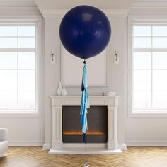 Tassel tail giant balloons delivered inflated to your door