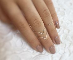 Knuckle ring set - baublesbybets.etsy.com