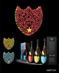 QR code DOM PERIGNON (Japan) Andy Warhol Collection
