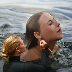 35 Most Beautiful Oil Paintings from Top Artists around the world Foto Picture, Underwater Painting, Hyper Realistic Paintings, Pictures To Paint, Beautiful Paintings, Amazing Artwork, Artist At Work, Sculpture, Illustration