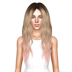 Alesso`s Glow hairstyle retextured by July Kapo for Sims 3 - Sims Hairs - http://simshairs.com/alessos-glow-hairstyle-retextured-by-july-kapo/