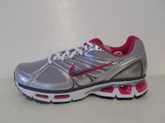 :Womens Nike Air Max Tailwind + 2009 344762-001 Silver Womens Sz 8.5