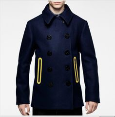 marc newson wool p-coat G-Star