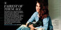 Kristen Stewart for MARIE CLAIRE, March 2014