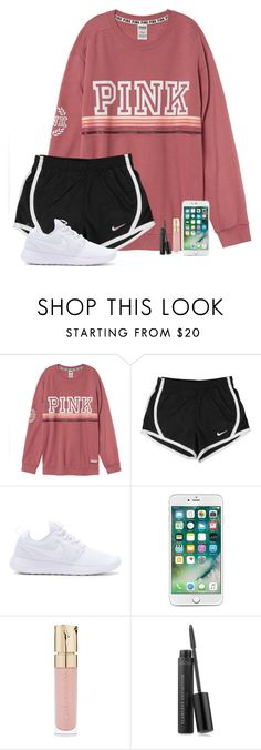 """Untitled #560"" by kaye-376 ❤ liked on Polyvore featuring NIKE, Smith & Cult and Bare Escentuals"