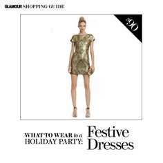 Dresses, Shoes, Bags, and Outfit Ideas for Every Holiday Party