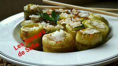 """Courgettes façon sushi Recette sur Facebook  """"Les Saveurs de Safia#"""