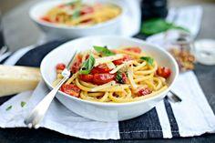 Perciatelli   a 10-minute Fresh Cherry Tomato Sauce