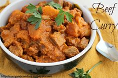 Curry and Comfort: Sri Lankan Beef Curry with Potatoes