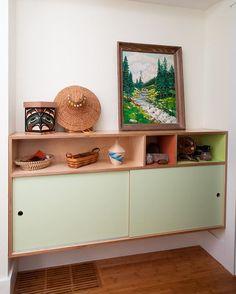 An oldie but a goodie #kerfdesign #hallwaydecor #cabinets