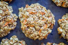 Healthy Make Ahead Breakfast Cookies - 6 Ways- Carrot Cake